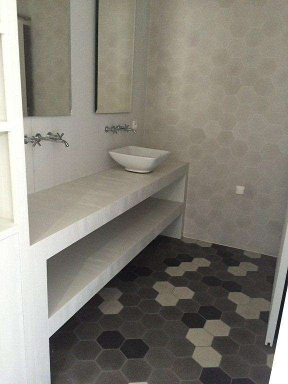 Carreaux de ciment charme parquet modele hexagonal - Entretien carreaux de ciment ...