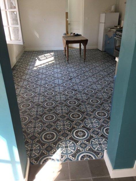 carreaux de ciment charme parquet modele ch 44 3. Black Bedroom Furniture Sets. Home Design Ideas