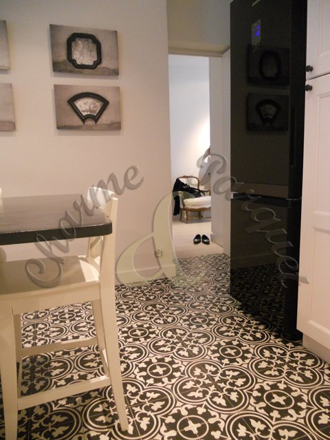Carreaux de ciment charme parquet paris - Temps de sechage ciment ...