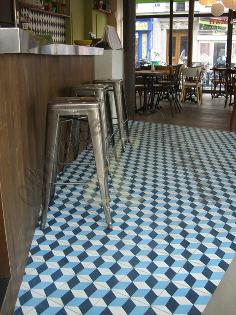 Carreaux de ciment charme parquet paris - Fabrication carreaux de ciment ...