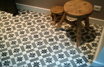 Carreaux de ciment charme parquet paris - Carrelage facon carreaux de ciment ...