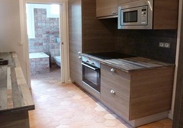 Tomettes cuisine et salle de bain