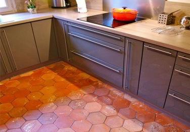 Tomettes hexagonales 15x15