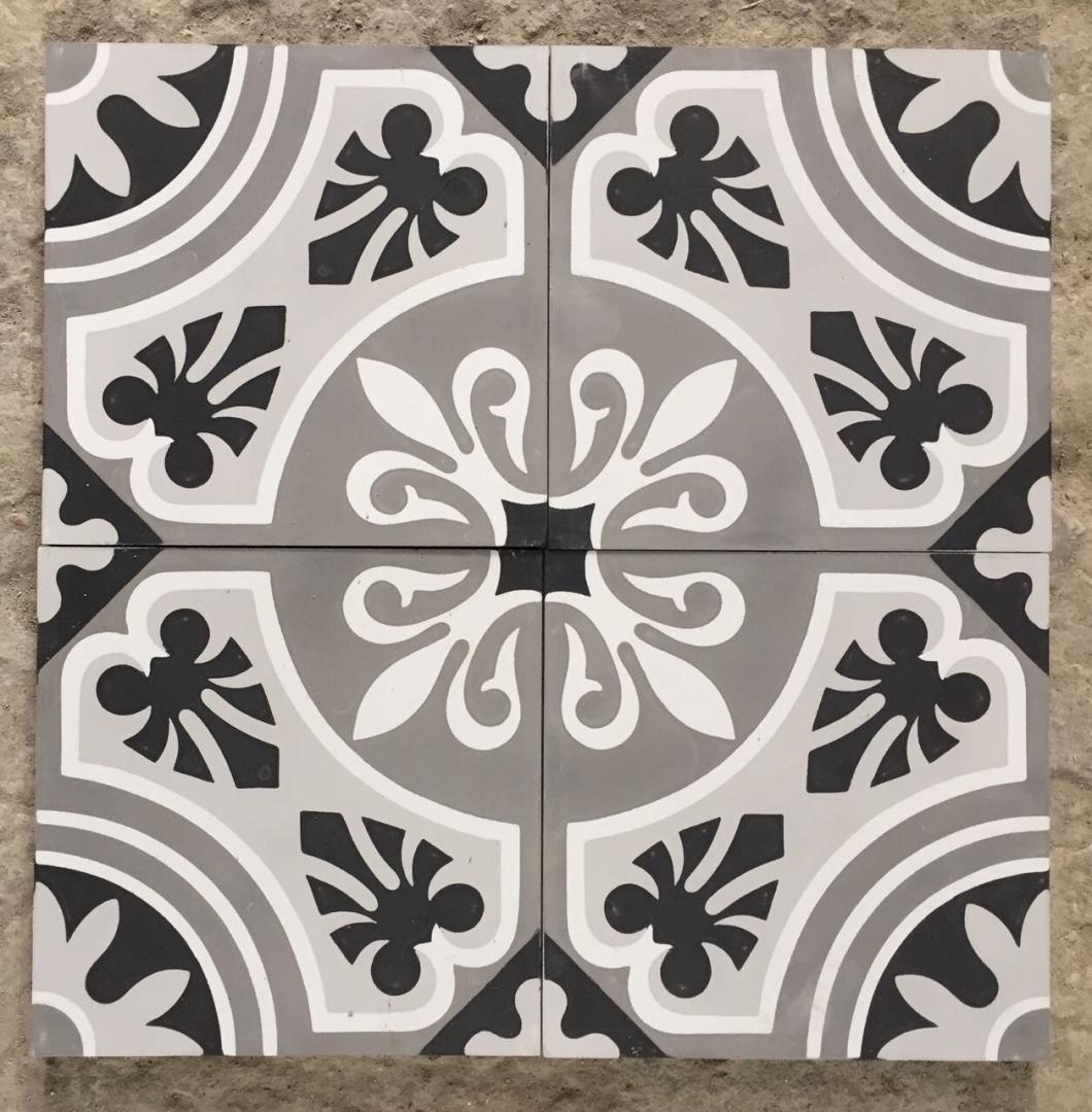 carreaux de ciment charme parquet mod le ch44 10. Black Bedroom Furniture Sets. Home Design Ideas