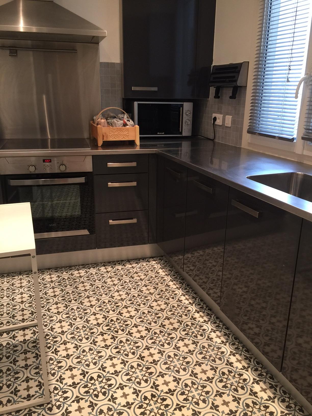 carreaux de ciment charme parquet modele ch 27. Black Bedroom Furniture Sets. Home Design Ideas