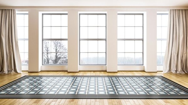 carreaux de ciment charme parquet square bleu. Black Bedroom Furniture Sets. Home Design Ideas