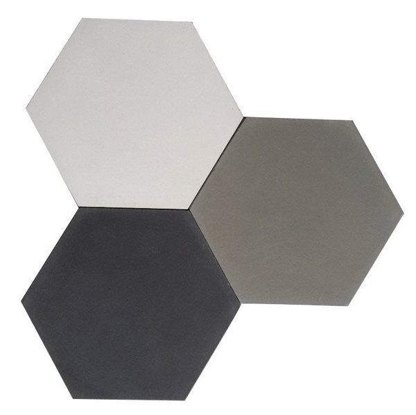 carreaux de ciment charme parquet hexagonal 15x18 uni. Black Bedroom Furniture Sets. Home Design Ideas