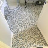 Carreaux ciment EF-07 réalisation salle de bain