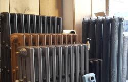 Radiateurs en fonte chez Charme & Parquet