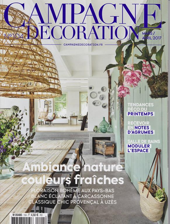 Campagne decoration Mars Avril 2017