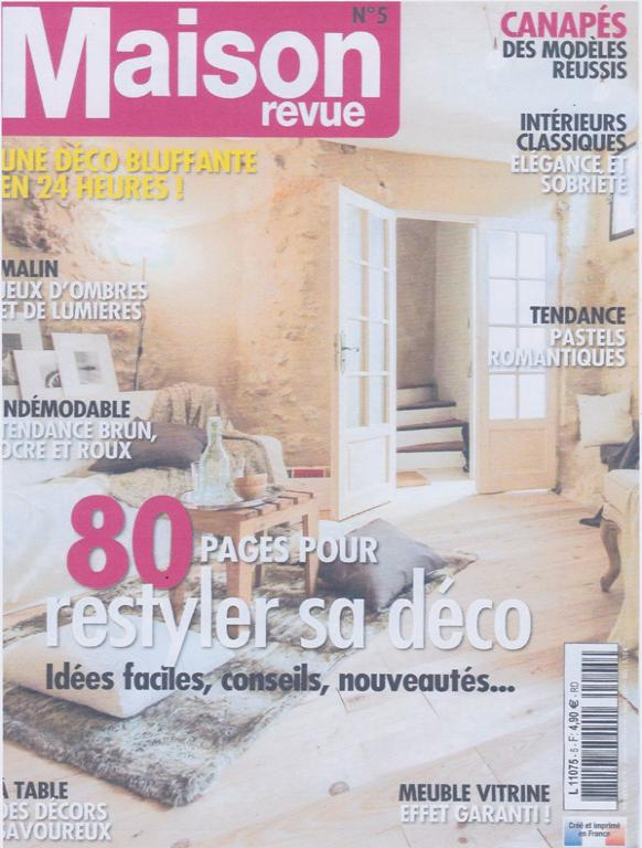 maison romantique magazine awesome maison chic with. Black Bedroom Furniture Sets. Home Design Ideas