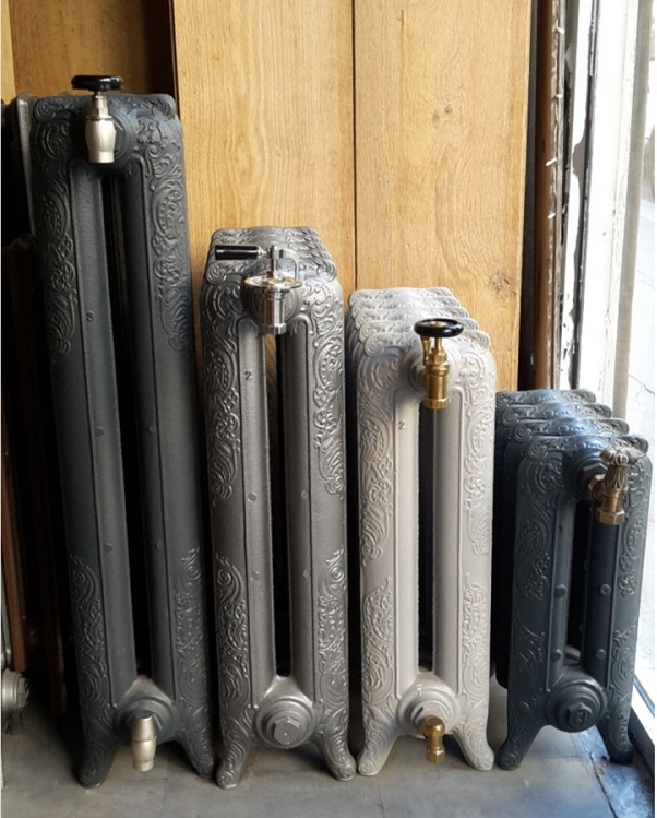 Radiateur fonte radiateur fonte retro rococo et - Robinet thermostatique pour radiateur fonte ancien ...