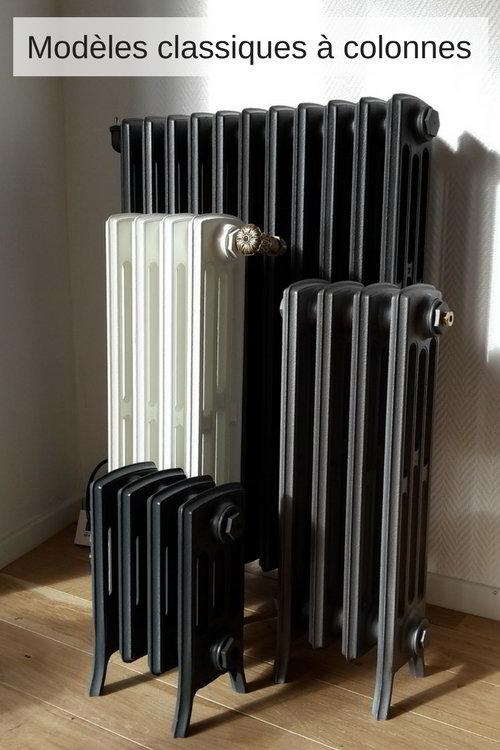 radiateur fonte modeles a colonnes
