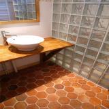 Tomettes hexagonales 15x17cm