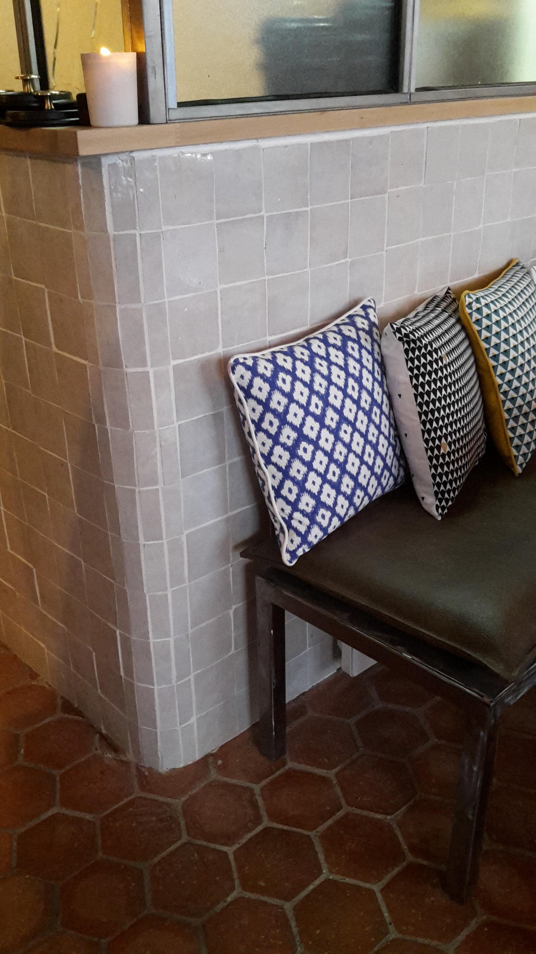 zellige zellige blanc nacre charme parquet paris. Black Bedroom Furniture Sets. Home Design Ideas