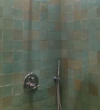 mur douche en zellige 10X10