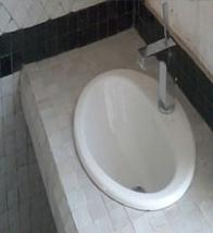 plan vasque en zellige