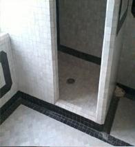 salle de bain en zellige
